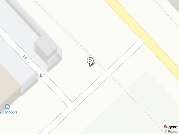 СТО Майкопская на карте Волгограда