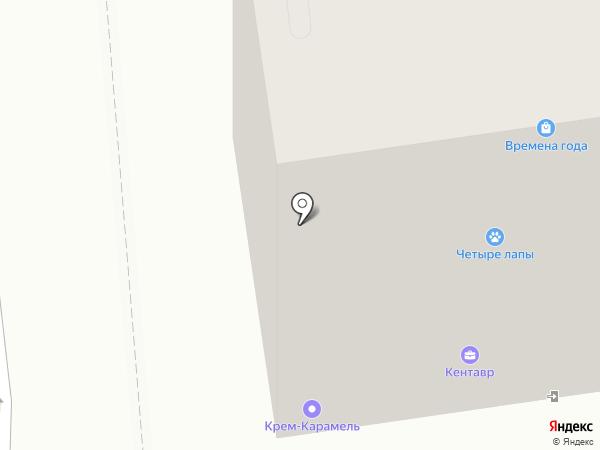 Четыре лапы на карте Городища
