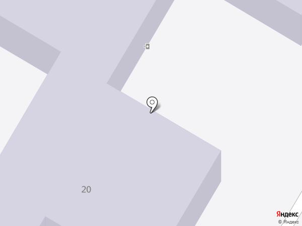 Детский сад №334 на карте Волгограда