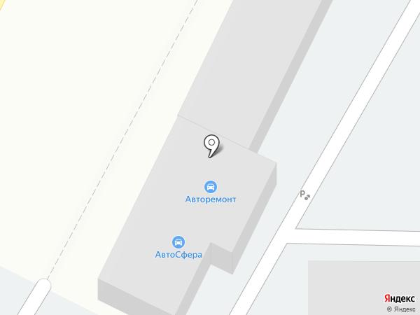 Автостоянка на карте Волгограда