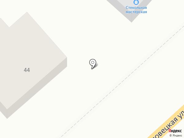 Стекольная мастерская на карте Волгограда
