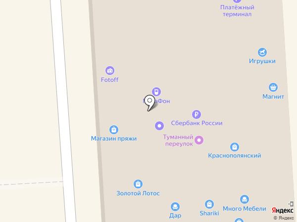 Краснополянский на карте Волгограда