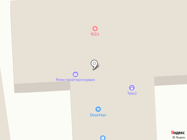 ВДЦ на карте Городища