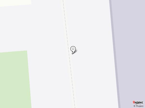 Городищенская средняя общеобразовательная школа №1 на карте Городища