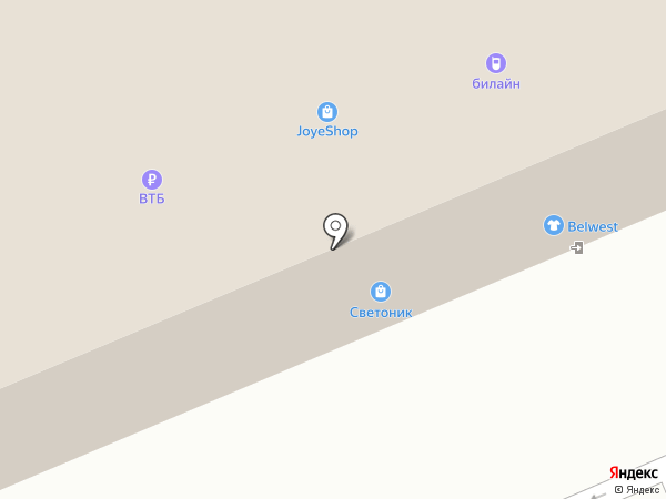 БлинБерри на карте Волгограда