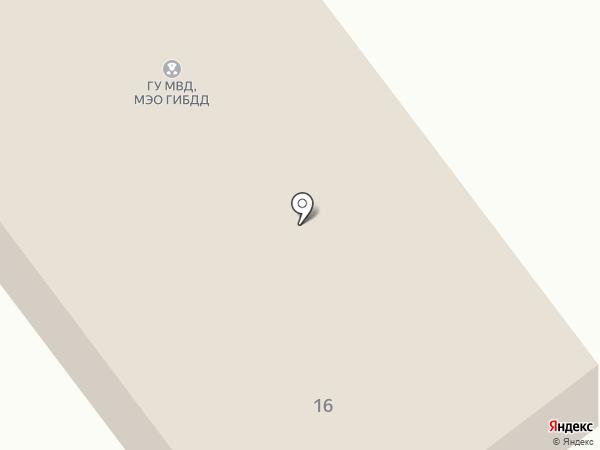 МЭО ГИБДД ГУ МВД России по Волгоградской области на карте Волгограда