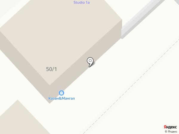 Studio1A на карте Волгограда