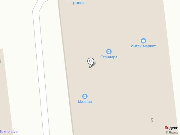 СтандАрт на карте Городища