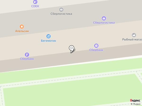Продовольственный магазин на карте Городища