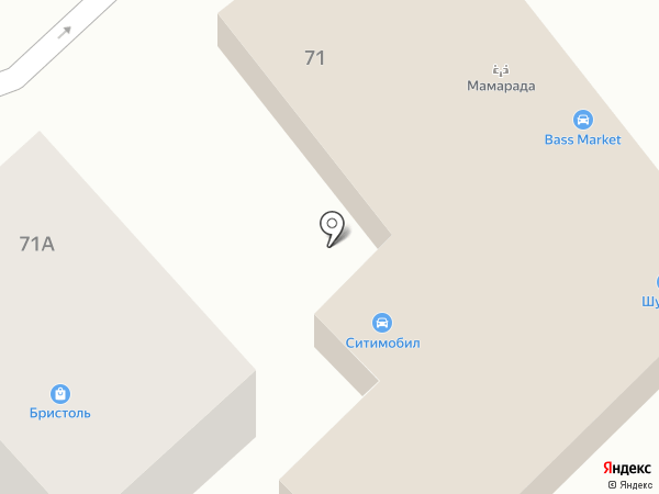 АвтоМотоСервис на карте Волгограда