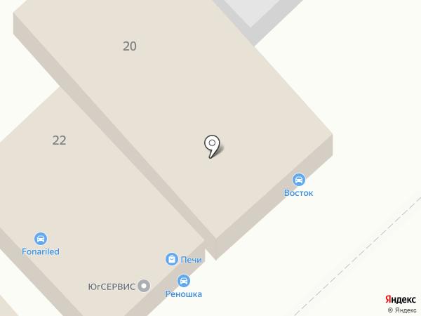 Аккумуляторный Гид на карте Волгограда