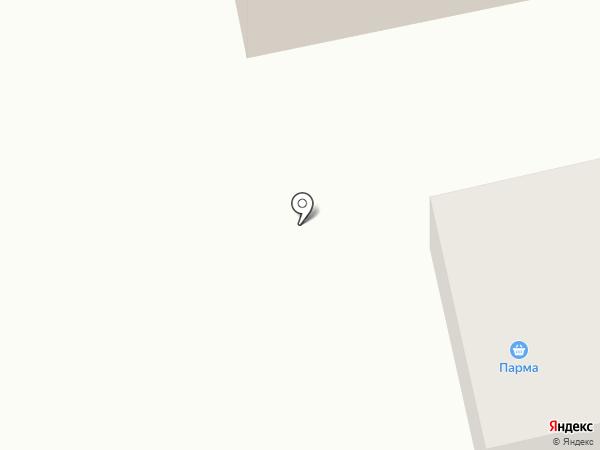 Парма на карте Городища