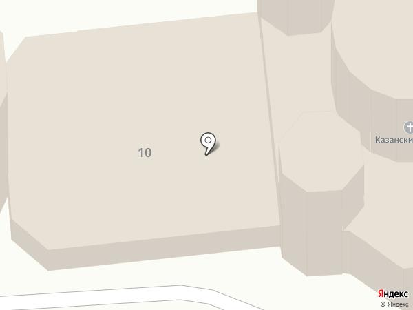 Казанский Кафедральный Собор на карте Волгограда