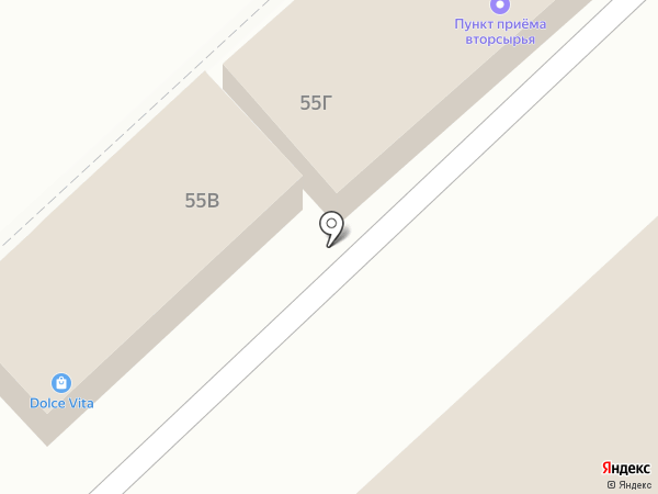 Дольче Вита на карте Волгограда