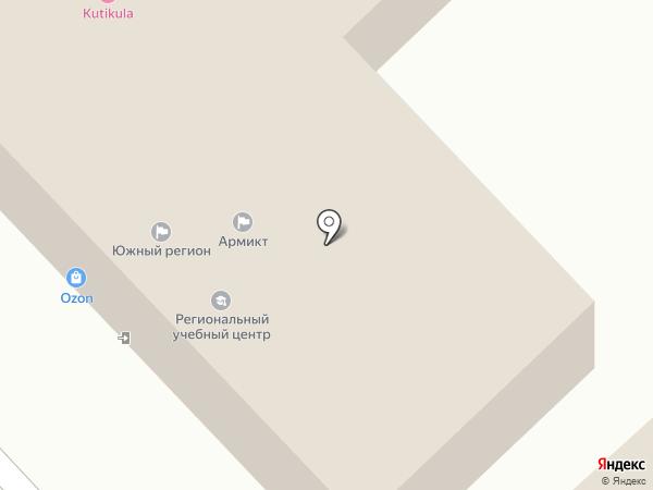 Центр Независимой Экспертизы Южного Федерального округа на карте Волгограда