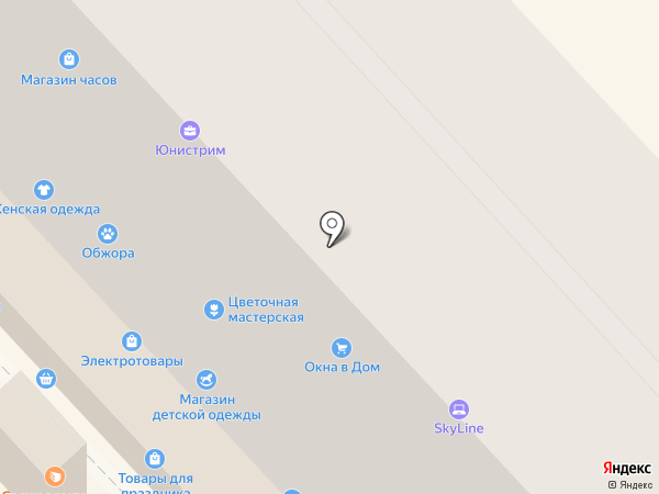 Банкомат, Московский Индустриальный Банк на карте Волгограда