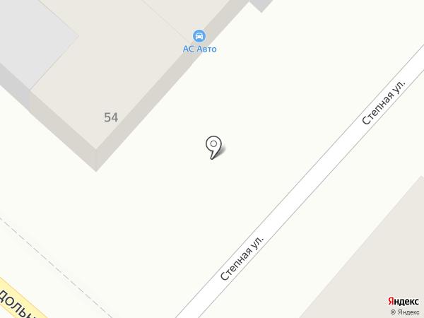 АС Авто на карте Волгограда