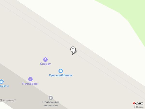 Николь на карте Волгограда