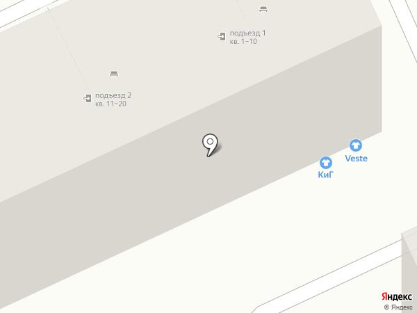 VESTE на карте Волгограда