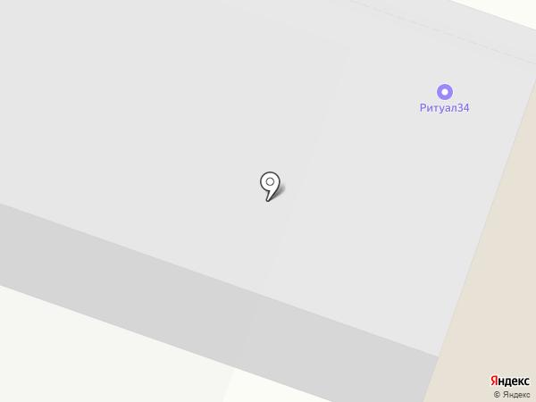 Пожарная профилактика на карте Волгограда