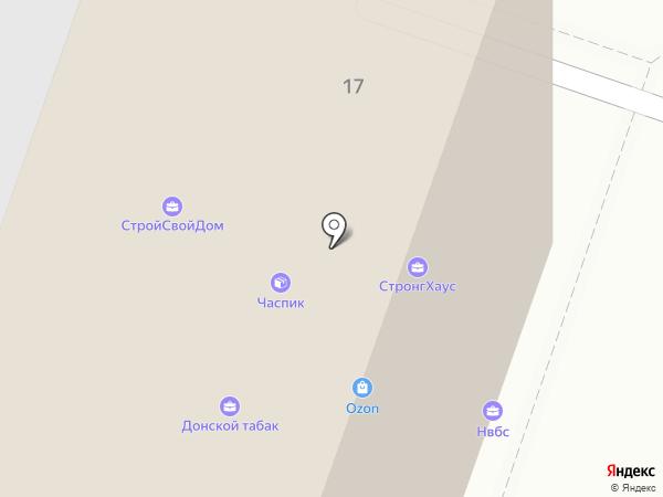 Viaset на карте Волгограда