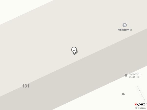 Academic на карте Волгограда