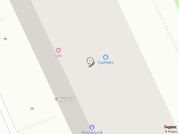 ВолгаТЕК на карте Волгограда