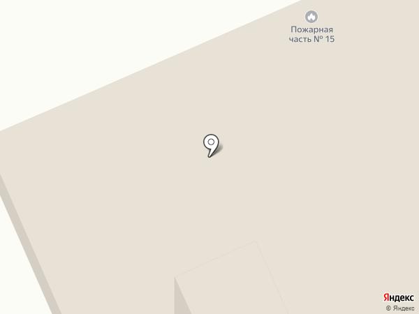 Пожарная часть №15 Дзержинского района на карте Волгограда