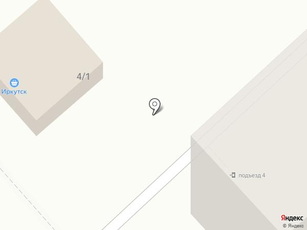 Овощной киоск на карте Волгограда