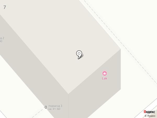 Бенза34 на карте Волгограда
