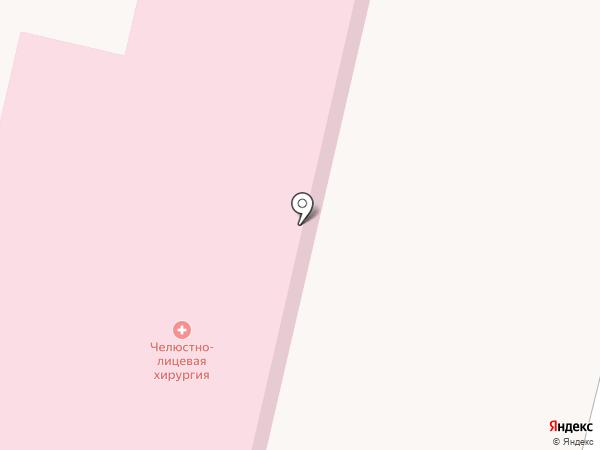 Волгоградская областная клиническая больница №1 на карте Волгограда