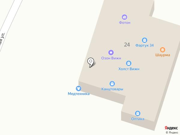 ОзонВижн на карте Волгограда