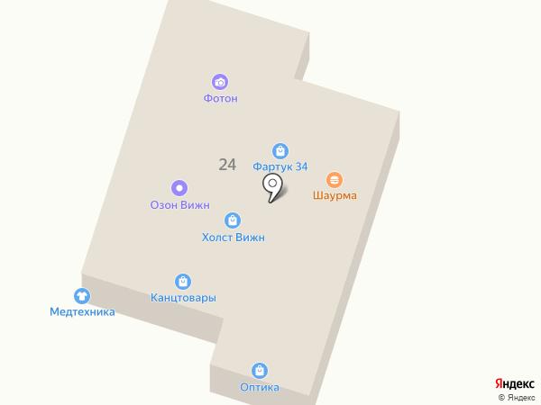 Медтехника на карте Волгограда