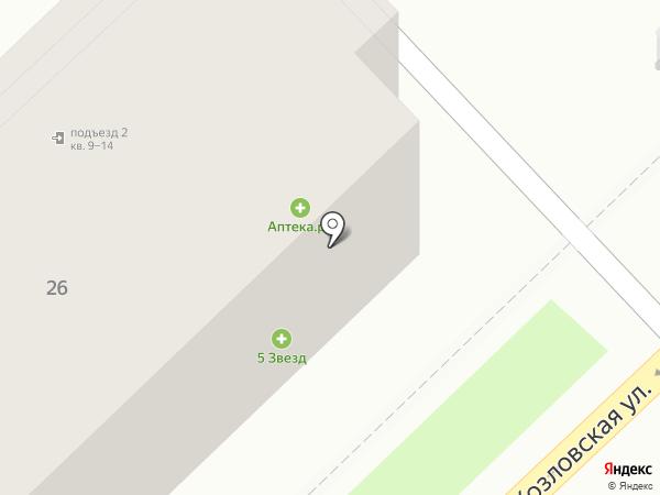 Автоюрист на карте Волгограда
