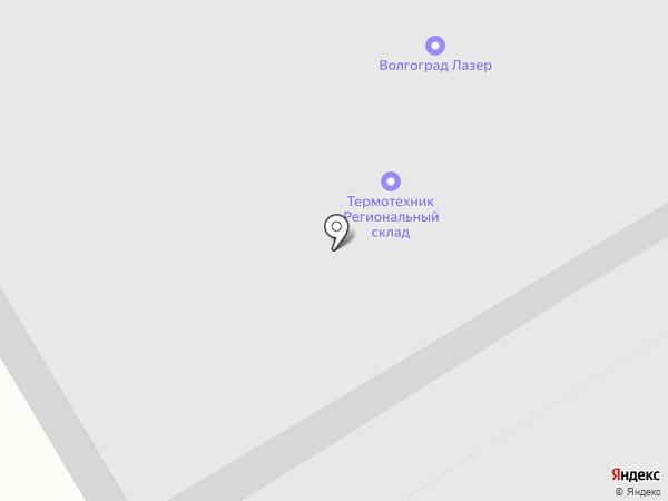 ЦМИ на карте Волгограда