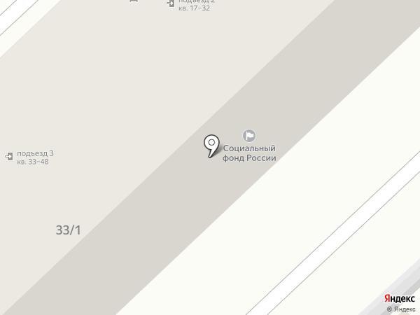 Управление пенсионного фонда РФ в Ворошиловском районе на карте Волгограда