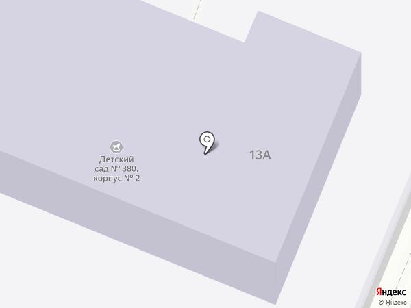Детский сад №35, Ёлочка на карте Волгограда
