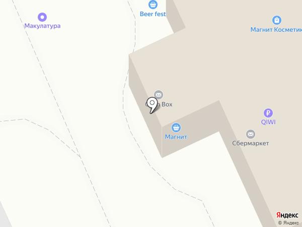 Магазин детской одежды на карте Волгограда