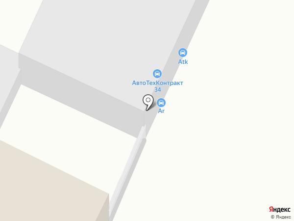 АвтоТехКонтракт-34 на карте Волгограда