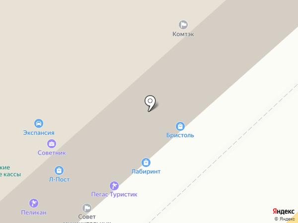 Зернотрейд на карте Волгограда