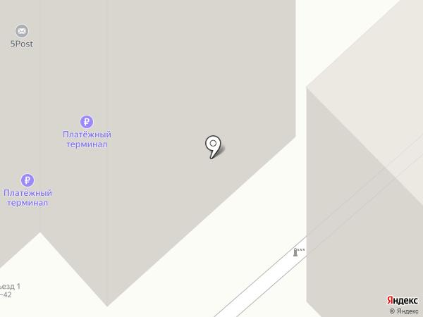 Пятерочка на карте Волгограда