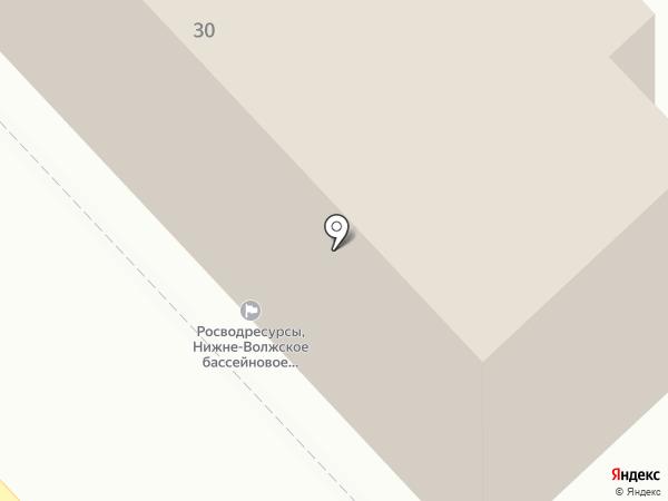 Отдел биологии и лицензирования по Волгоградской области на карте Волгограда