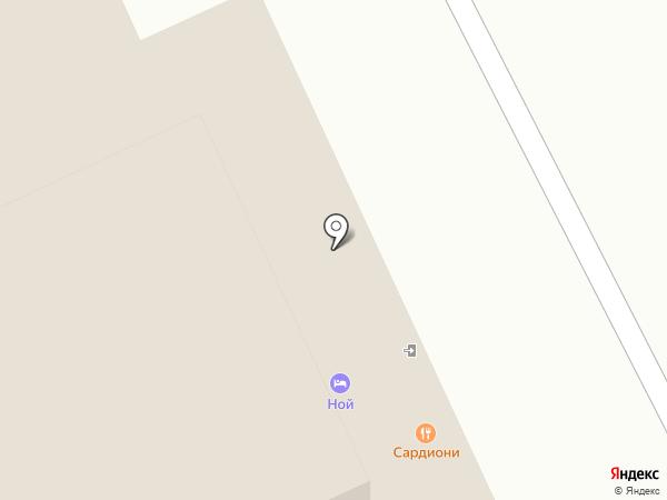 Альфа на карте Волгограда