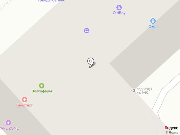 Hamster`s Bar на карте Волгограда