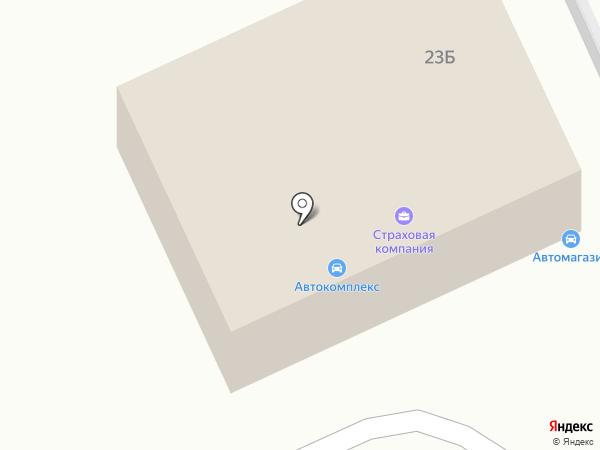 Альфа-Трак на карте Волгограда