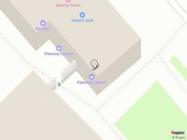 Ювелир Сервис на карте Волгограда