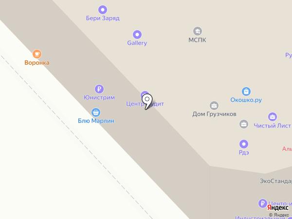 Ивановский Трикотаж на карте Волгограда
