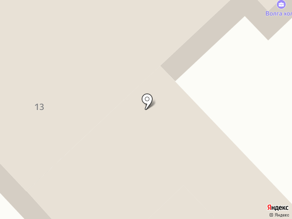 Hampton by Hilton Volgograd Profsoyuznaya на карте Волгограда
