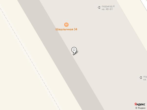 Шарм на карте Волгограда