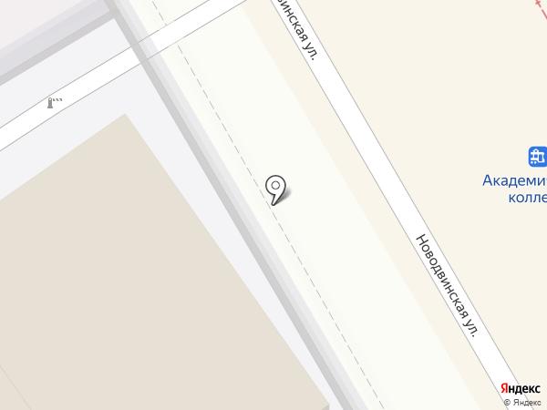 МПК Чернышевой на карте Волгограда
